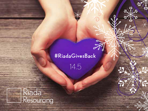 Giving back is at the heart of Riada...