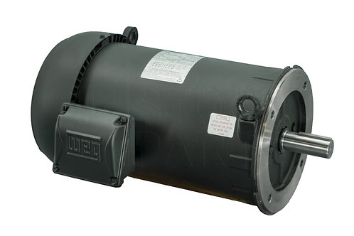 C-Face Mounted Rolled Steel Footless Motors
