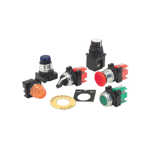 Push Buttons, Selector Switches & Indicator Lights