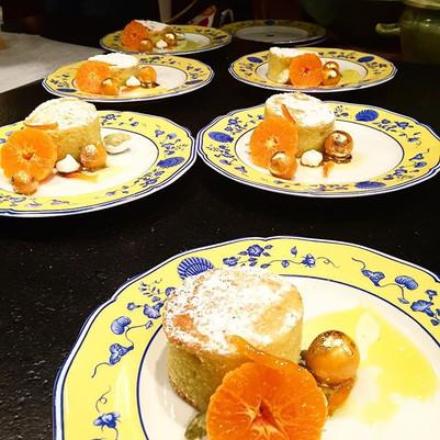 Gold dessert haha