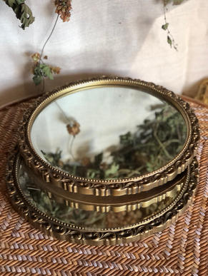 Gold gilt mirrors