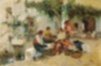 Joaquín_Sorolla_y_Bastida_-_Vendiendo_me