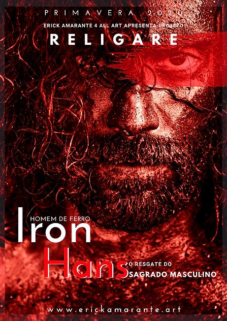 Poster -  IRON HANS - Erick Amarante 4 A