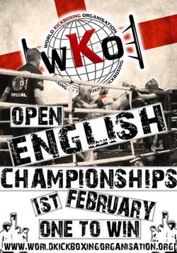 2020 English Open Flyer
