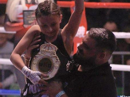 Thea Patsalides takes junior WKO Regional K1 title