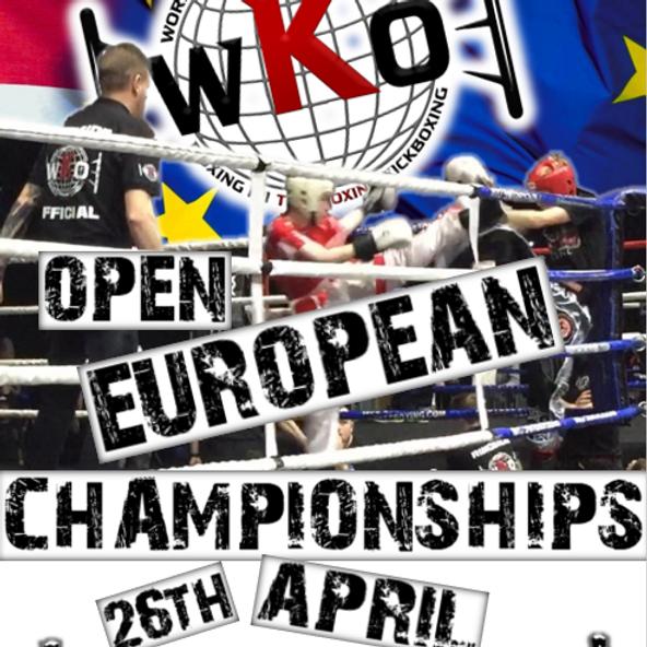 WKO European Open 2020