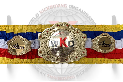 WKO Deluxe British Open - Winners Belt