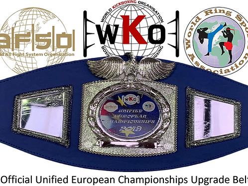 Unified European Open - Upgrade Belt