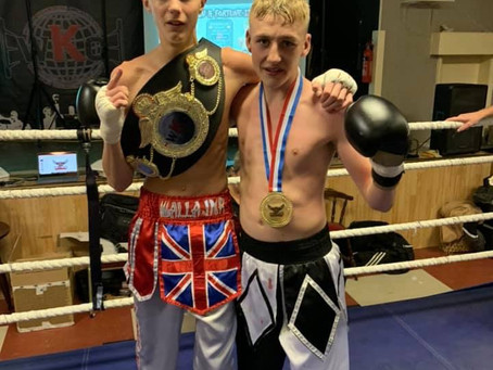 Wallace takes the WKO -55k Junior European title