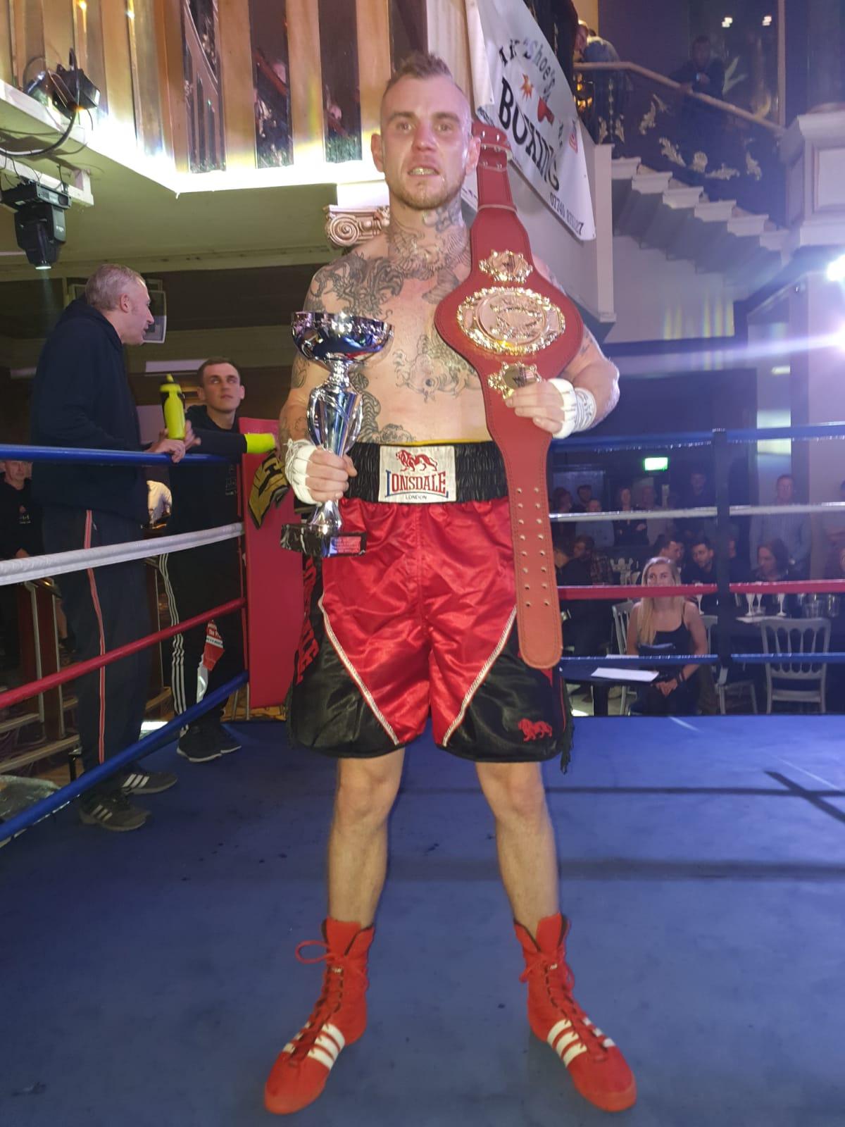 Jordan Candlin New Area Champ