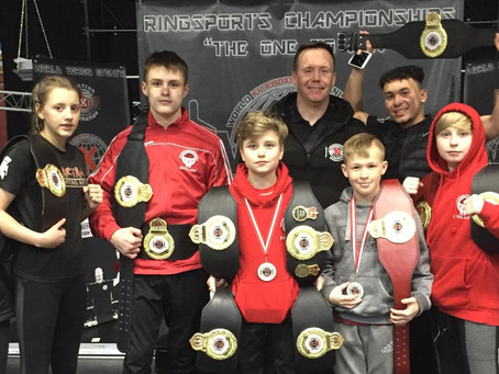 Team Dragonfoot  take WKO English Open by storm