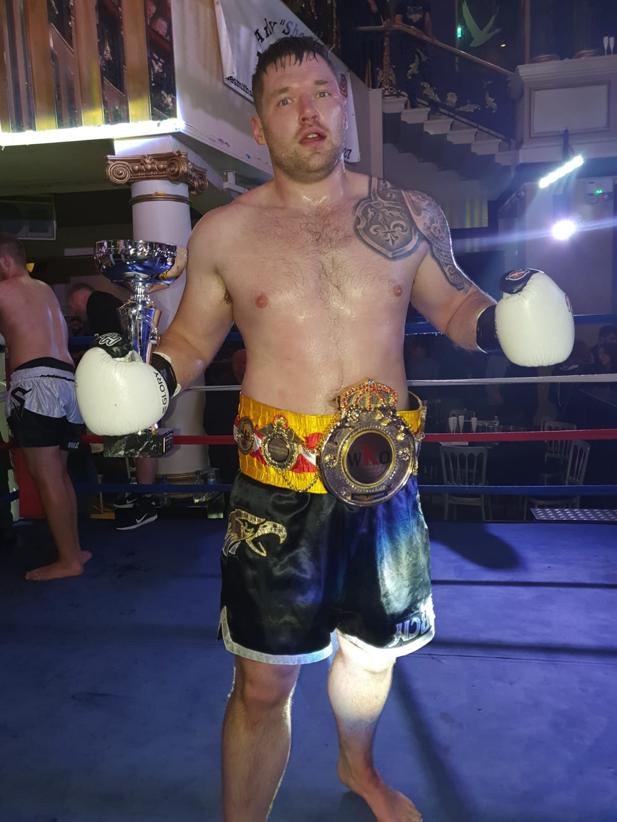 David Small New K1 Heavyweight Champ
