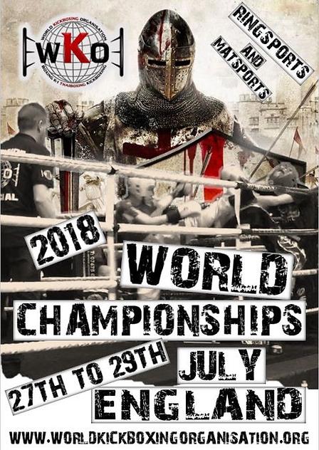 WKO 2018 Worlds Poster