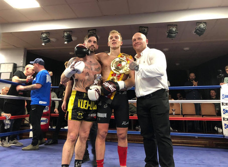 Nathan Ryder WKO English Champion