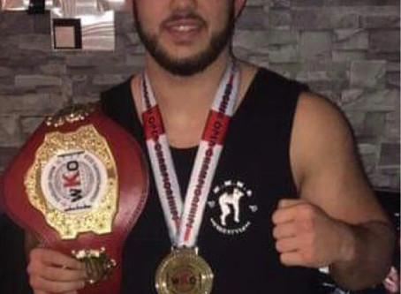 Billy Deniz  2019 WKO English Open Champion WKO K1 Rules