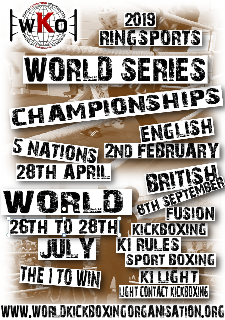 WKO WORLD SERIES