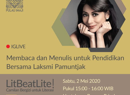 LitBeatLite!: Reading and Writing for Education With Laksmi Pamuntjak