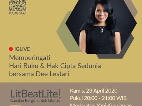 Interview with Dee Lestari: Celebrating World Book and Copyright Day