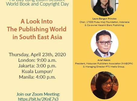 Press Conference: Saving the Book Industries of Southeast Asia during the Pandemic