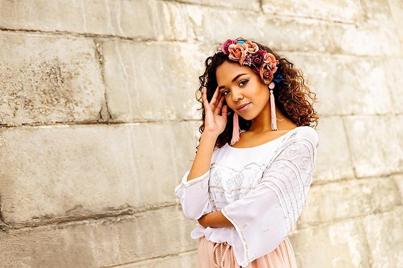 'Gypsy Rose' fashion editorial
