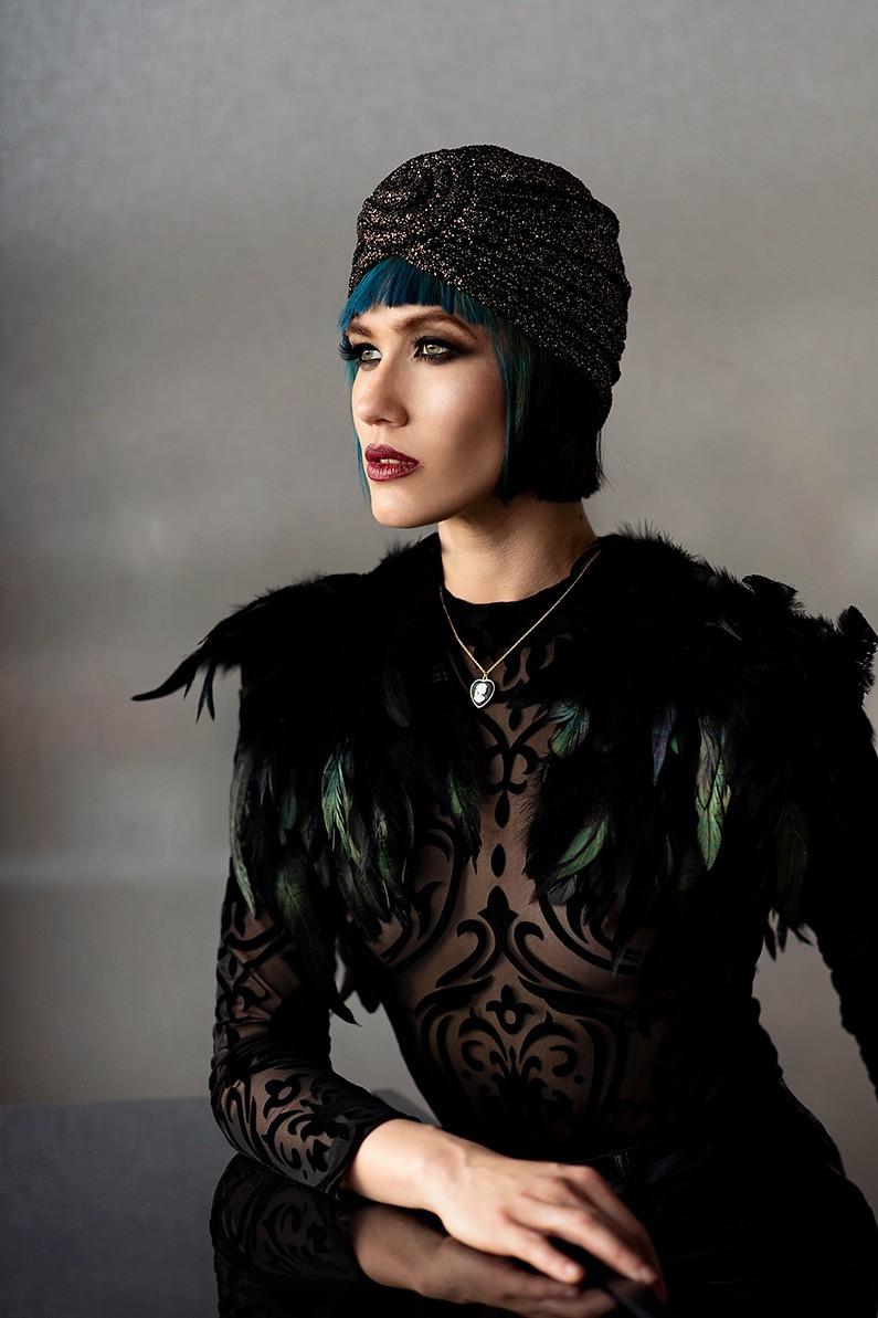 'Fallen Curtain' fashion editorial