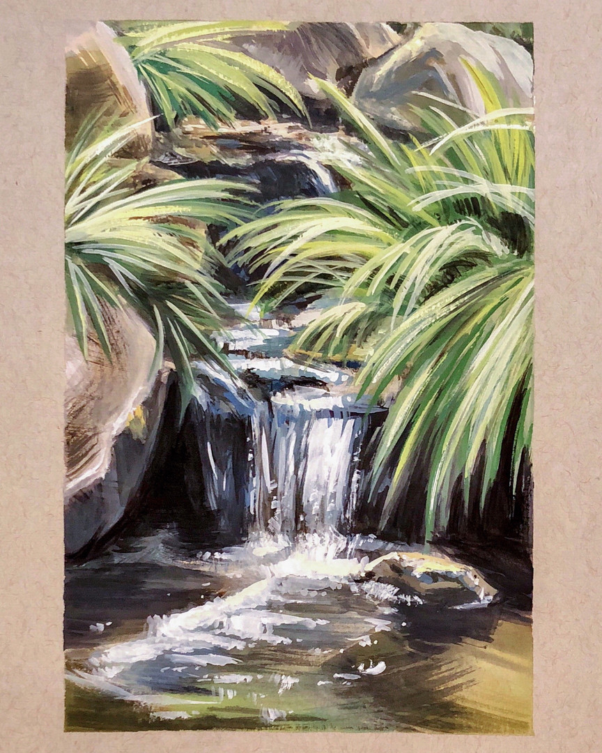 Descanso Garden (Waterfall)