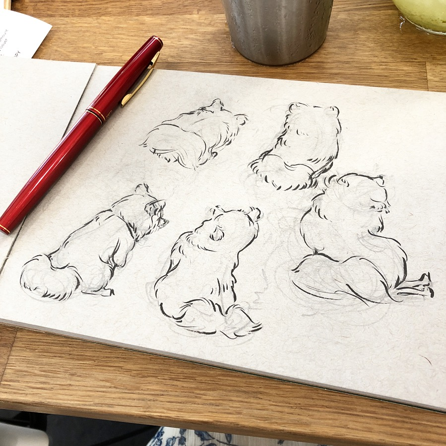 Pomeranian Sketches