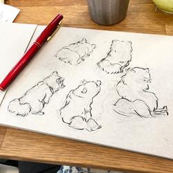 Pomeranian Sketches