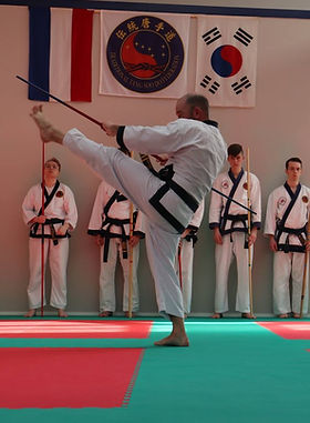 Sportschool  High Five Tang Soo Do Leeuwarden vechtsport taekwondo Koreaans karate zelfverdediging weerbaarheid
