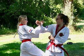 High Five Tang Soo Do Leeuwarden taekwondo karate zelfverdediging weerbaarheid vrouwen