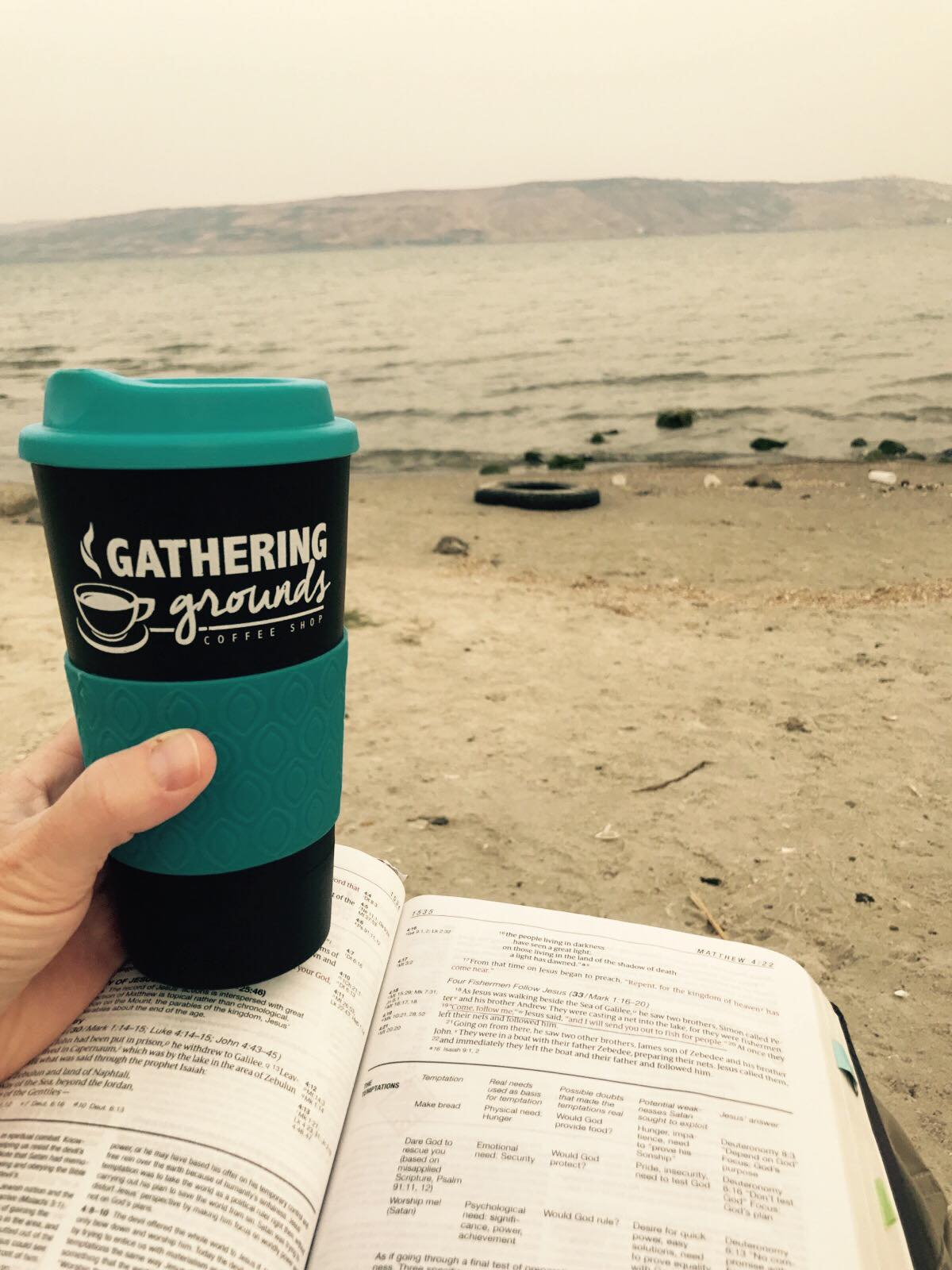 GG at Sea of Galilee