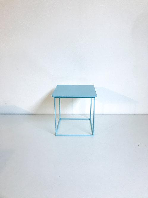 Suporte Mondrian cubo verde água