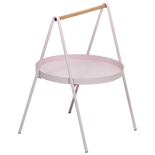 Mini mesa alça rosa