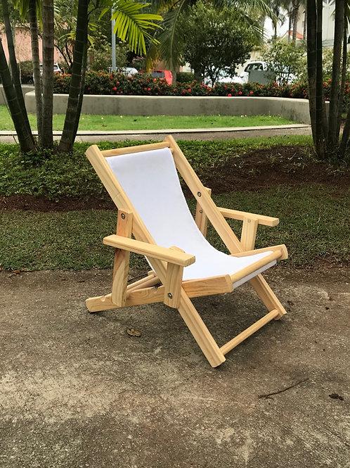 Cadeira infantil praia branca