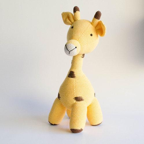 Girafa em tricot