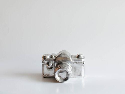 Maquina fotográfica Prata