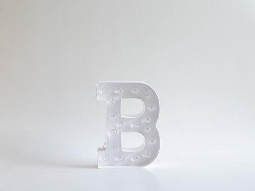 "Luminoso Letra ""B"""