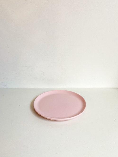 Bandeja redonda Reto rosa claro