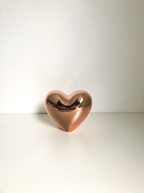 Coração M cobre