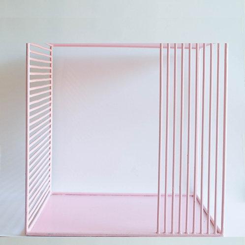 Cubo Traço rosa