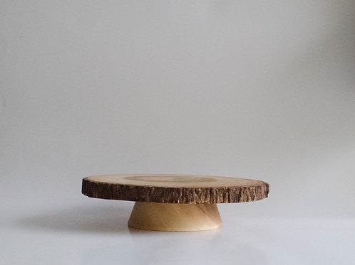 Bandeja Wood com pé
