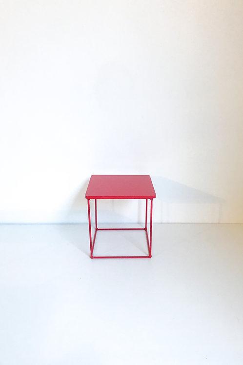 Suporte Mondrian cubo vermelho