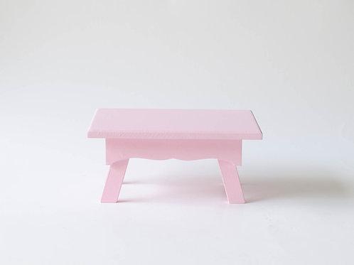 Mini banco Sofia rosa