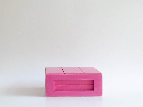 Caixa madeira Geta P pink