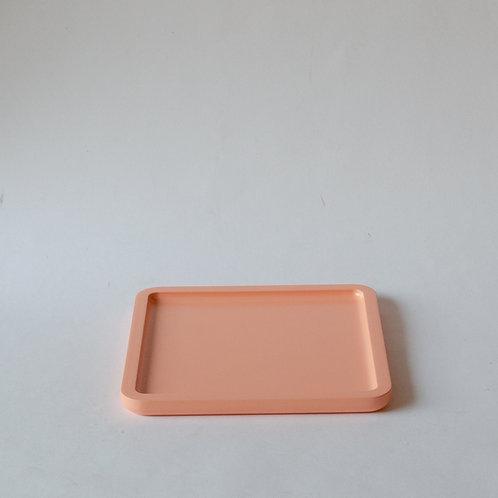 Bandeja quadrada Milão laranja