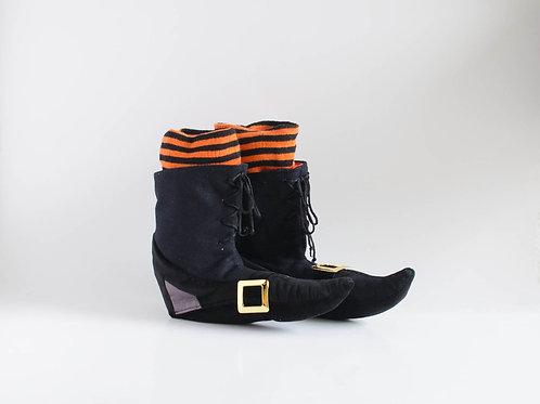 Par botas Hallowen