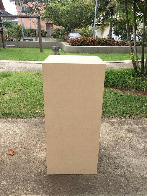 Cubo Forração 45(L)x45(P)x100(A)