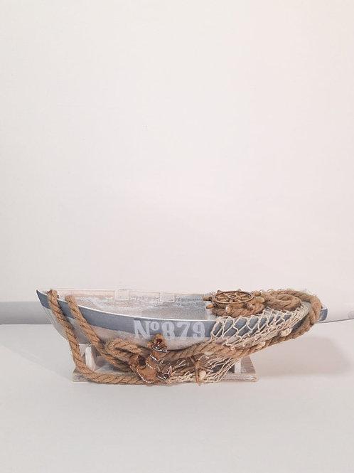 Barco rústico mesa