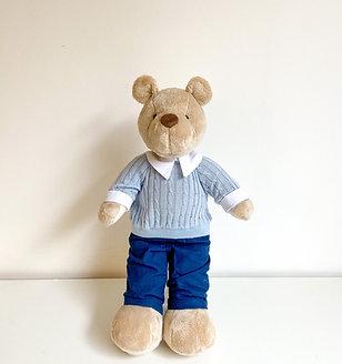 Urso roupa azul