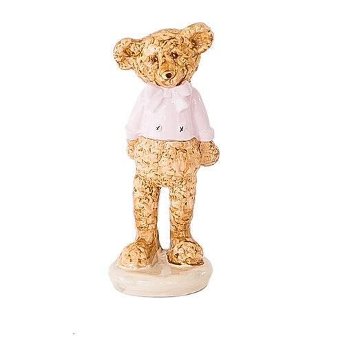Urso Gravata Rosa
